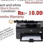 HP LASERJET P1102W WIFI PRINTER RECONDITION