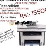 HP LASERJET MFP1522 PRINTER RECONDITION