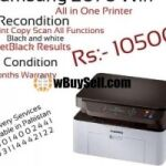 SAMSUNG LASERJET 2070W ALL IN ONE PRINTER RECONDITION