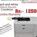 HP LASERJET P3015 PRINTER RECONDITION