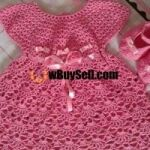 FOR SALE HAND MADE CORCHET FROCKS.