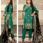 Cheerfull and Fabulous Unstitched Gold Print Lawn Designs with Gold Print  for Sale