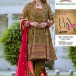DESIGNERS GOWN COLLECTION CHIFFON EMBROIDERED MAXI FOR SALE