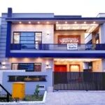 Beautiful Designer 10 Marla Double Story Brand New House For Sale Bahria Town Phase 8 Overseas Enclave Rawalpindi