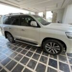 Toyota Land Cruiser ZX  Pearl White Exterior 2016 for Sale