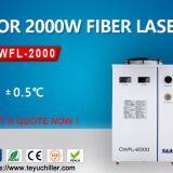 Air cooled chiller for fiber laser welding machine