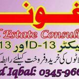 D.13 Plots CDA Islamabad