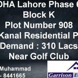 DHA Phase 8 block D DHA Phase 8DHA Defence Lahore Punjab