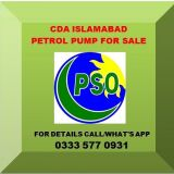 PSO Petrol Pump for Sale