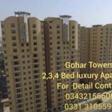 New Flat for sale in Gulshan-e-Iqbal at Gohar Towers