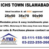 ICHS TOWN  Islamabad cooperative housing society 5 Marla plots for sale