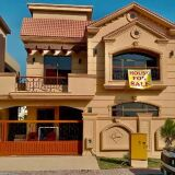 Beautiful 10 Marla Brand new house for sale Double Unit in Bahria Town Phase 8 Rawalpindi