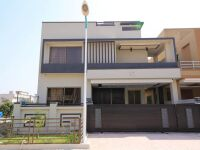 10 Marla Designer House Boulevard, Back Open, 8 Beds with attached bath Tripple Storey Brand New for Sale