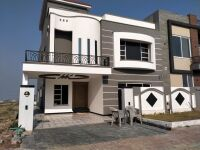 10 marla beautiful and simple designer house back extra land  is for sale in Bahria Town Phase 8 Rawalpindi