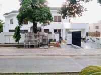 44 Marla Corner House Main Boulevard Basement semi Furnished House for Sale in Bahria Town Lahore