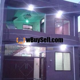 BRAND NEW HOUSE FOR SALE IN FAISAL COLONY RAWALPINDI