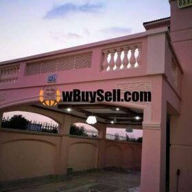 HOUSE FOR SALE TRIPPLE STORY IN NAVAL ANCHORAGE ISLAMABAD