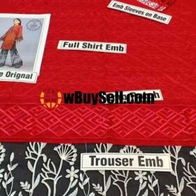 BRAND MARIA B AVAILABLE IN LAWN FABRICS 2PC FOR SALE
