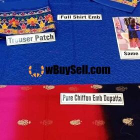 BRAND RUNG JA AVAILABLE IN LAWN FABRICS 3PC FOR SALE