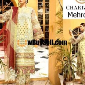 BRAND CHARIZMA VOL'20 AVAILABLE IN LAWN FABRICS 3PC FOR SALE