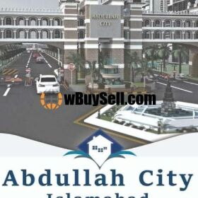 PLOTS FOR SALE ON INSTALLMENTS IN ABDULLAH CITY ISLAMABAD