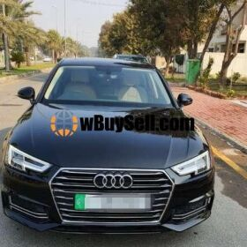 AUDI A4 2019 BLACK COLOUR