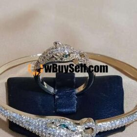 IMPORTED FINE MADE OPENABLE BANGLE N RING SET