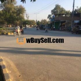 9 KANAL COMMERCIAL PLOT FOR SALE AT BAHAWALPUR