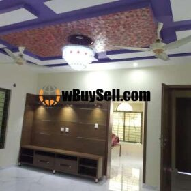 BRAND NEW LUXURY 10 MARLA HOUSE FOR SALE AT CBR ISLAMABAD