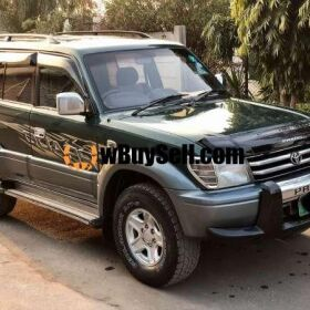 TOYOTA PRADO TZ - MODEL: 1996 - REGISTERED: 2012