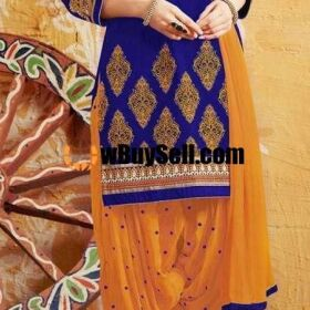 BRAND ANARKALI AVAILABLE IN LAWN FABRICS 3PC FOR SALE