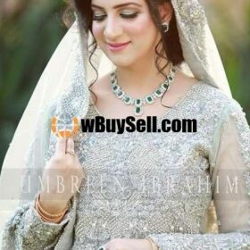 FABRIC OVERVIEW UMBER IBRAHIM WEDDING BRIDAL DRESS MASTER FOR SALE