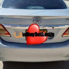 TOYOTA COROLLA GLI MANUAL 2012 MODEL FOR SALE