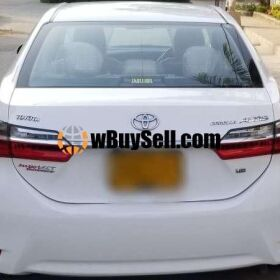 TOYOTA COROLLA ALTIS 1.6 AUTOMATIC 2017 MODEL FOR SALE