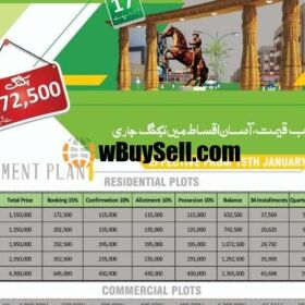 PLOTS FOR SALE AT TAXILA GARDENS HOUSING SOCIETY