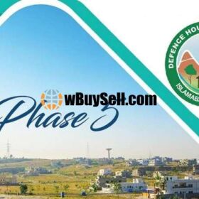 PLOT FOR SALE AT DHA PHASE-5 ISLAMABAD