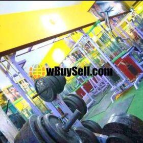 SALE RUNNING BUSINESS GYM AT KARACHI