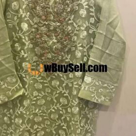 LADIES DRESS CHIFFON DUPATTA SILKK TROUSE