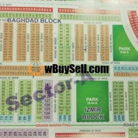 PLOTS FOR SALE OMEGA RESIDENCIA (SECTOR A) LAHORE