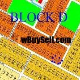 PLOT FOR SALE BLOCK - D & E, GULBERG GREENS, ISLAMABAD