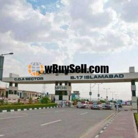 PLOT FOR SALE AT B17 ISLAMABAD