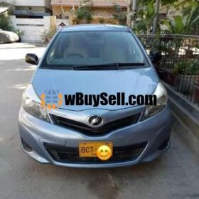 TOYOTA VITZ FOR SALE 2011