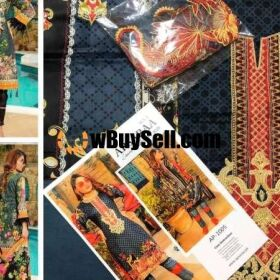 ORIGINAL BRAND APSARAA LAWN DUPATTA SPECIAL SPRING /SUMMER COLLECTION FOR SALE