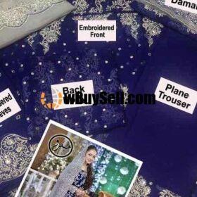 ZAINAB CHOTANI CHIFFON EMBROIDERY MAXI NOW AGAIN AVAILABLE MASTER REPLICA
