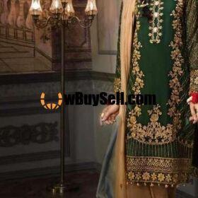 MOHAGANI DESIGNER CHIFFON BRIDAL EMBROIDERY SUIT