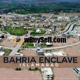 PLOT FOR SALE AT BAHRIA ENCLAVE ISLAMABAD