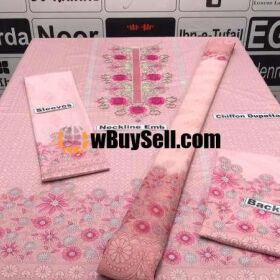 MARIA.B VOL'20 AVAILABLE IN LAWN FABRICS 3PC