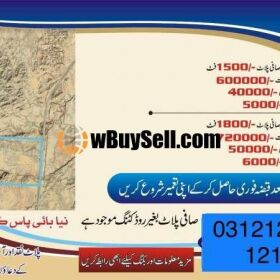 PLOTS FOR SALE AT MAGA CITY QUETTA