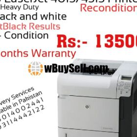 HP LASERJET P4015 PRINTER RECONDITION