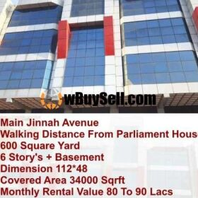 PLAZA FOR SALE AT BLUE AREA ISLAMABAD
